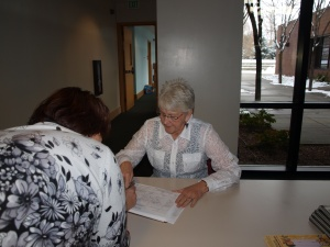 Registration for food pantry services