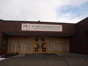 St James Episcopal Church in Salt Lake City